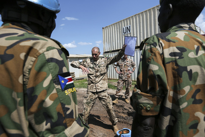 UNMISS Conducts Peacekeeping Training for SPLA Officers, Juba