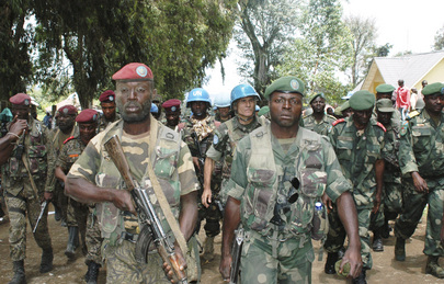 MONUSCO Force Commander Visits Bunagana after Its Recapture from M23 Rebels