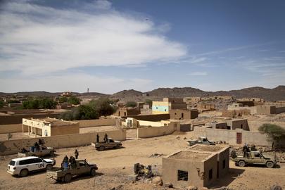 Scene fromTessalit, Mali