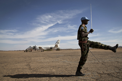 UN Peacekeeping Chief Departs Tessalit, Mali