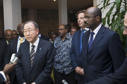 Secretary-General Arrives in Bamako, Mali