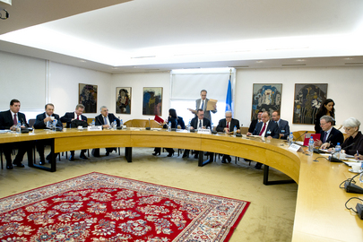 Joint Special Representative for Syria Meets US and Russian Officials in Geneva