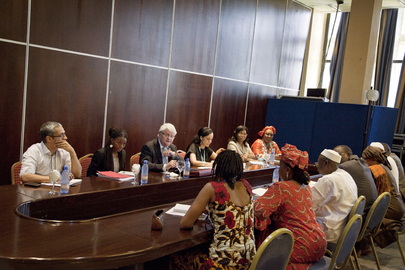 UN Peacekeeping Chief Meets Civil Society Leaders in Mali