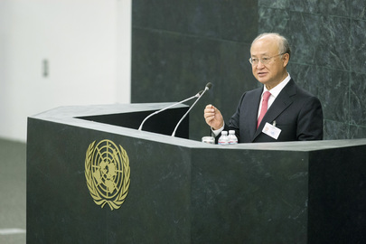 Head of IAEA Presents Annual Report to General Assembly