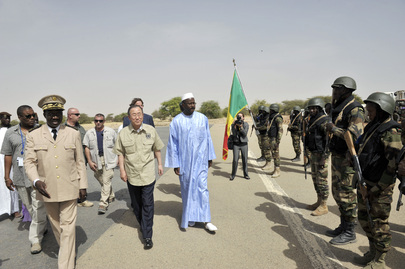 Secretary-General Arrives in Timbuktu, Mali