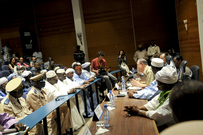 Secretary-General and World Bank President Meet Community Leaders of Timbuktu