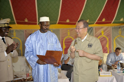 Secretary-General Visits Timbuktu, Mali