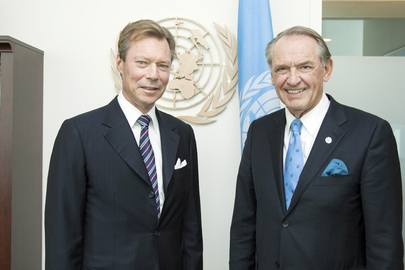 Deputy Secretary-General Meets Grand Duke of Luxembourg