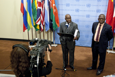Permanent Representative of Democratic Republic of Congo Briefs Press