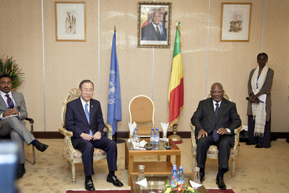 Secretary-General Meets President of Mali