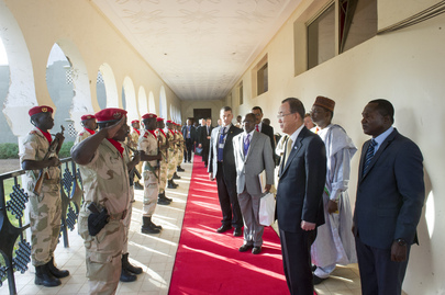 Secretary-General Visits Niger