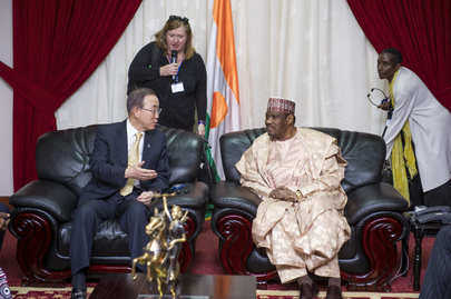 Secretary-General Meets Speaker of Niger National Assembly