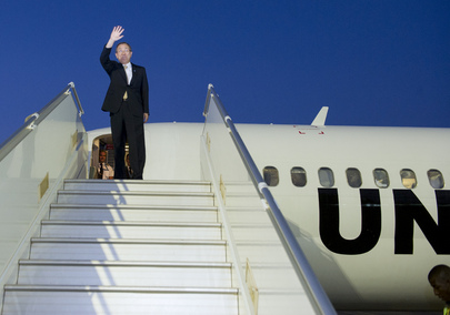 Secretary-General Departs Niger for Burkina Faso