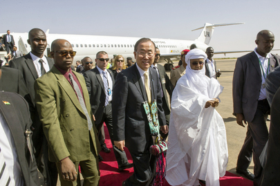 Secretary-General Arrives in Niger