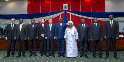 Secretary-General Holds Joint Meeting with Prime Minister of Burkina Faso