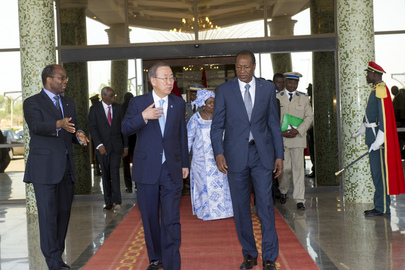Secretary-General Meets President of Burkina Faso