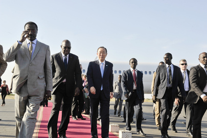 Secretary-General Arrives in Chad