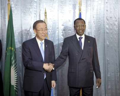 Secretary-General Meets President of Chad
