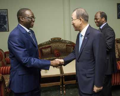 Secretary-General Meets Prime Minister of Burkina Faso