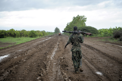 A.U. Mission Helps Repair Roads in Afgooye, Somalia