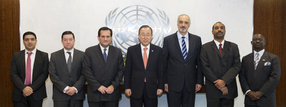 Secretary-General Meets Members of Decolonization Committee Bureau