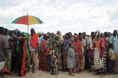 Thousands Displaced by Floods and Conflict near Jowhar, Somalia
