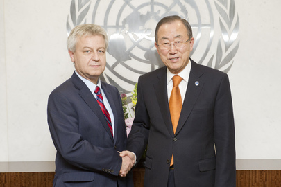 Secretary-General Meets President of Human Rights Council