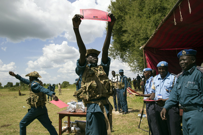 South Sudanese Police Trained in Curbing Cattle Raids