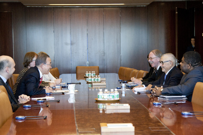 Secretary-General Meets President of Inter-Parliamentary Union