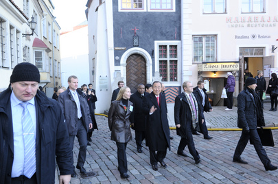 Secretary-General Visits Tallinn, Estonia
