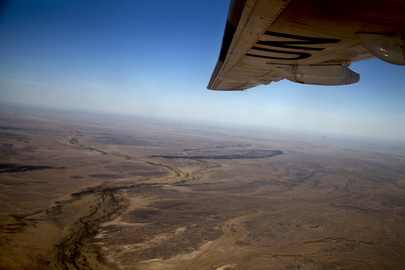 Aerial View of Surroundings of Kidal, Mali