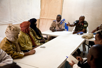 MINUSMA Force Commander Meets Representatives of Malian Armed Groups