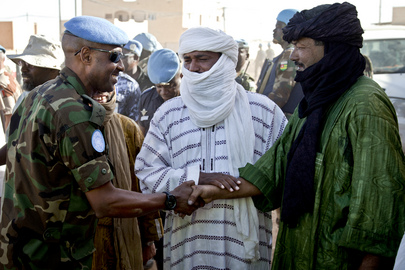 MINUSMA Leaders Meet Representatives of Malian Armed Groups