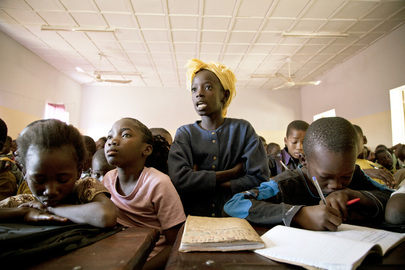 School in Mali Rehabilitated by Ghanaian UN Engineers