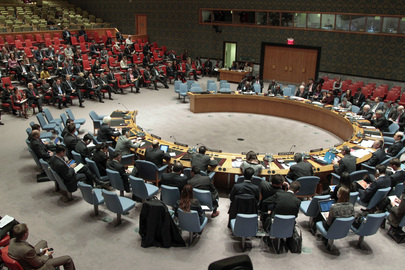 Security Council Discusses Situation in the Middle East
