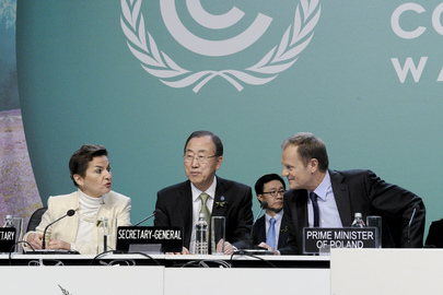 Secretary-General at Climate Change Conference in Warsaw