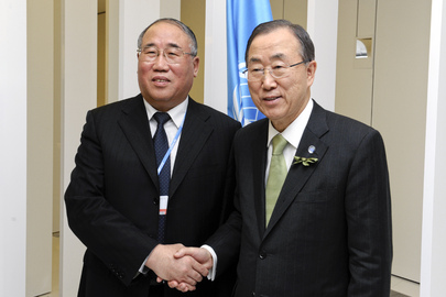 Secretary-General Meets Vice-Chair of National Development and Reform Commission of China