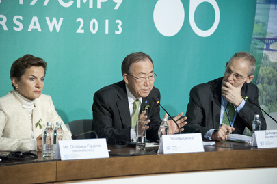 Press Conference on UN Climate Change Conference, Warsaw