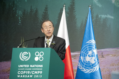 Secretary-General Addresses Climate Change Conference in Warsaw