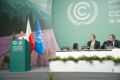 Opening of High-level Segment of Climate Change Conference, Warsaw