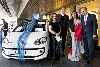Volkswagen Prize at UN Women's Guild Annual Bazaar