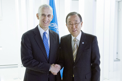 Secretary-General Meets U.S. Climate Change Envoy