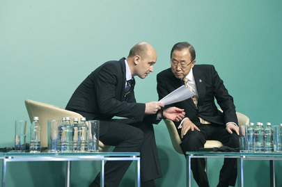 Secretary-General and President of Climate Change Conference in Warsaw