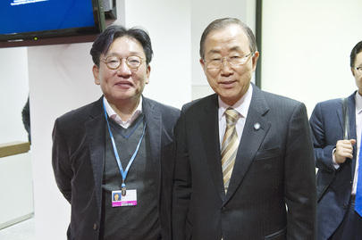 Secretary-General Meets Korean Senior Secretary for Green Growth