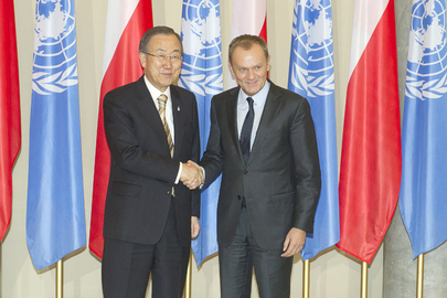 Secretary-General Meets Prime Minister of Poland