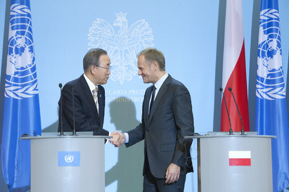 Secretary-General and Polish Prime Minister Brief Press