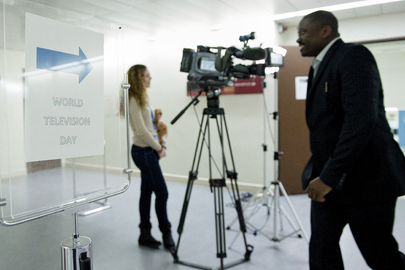 UNTV Celebrates World Television Day in Geneva