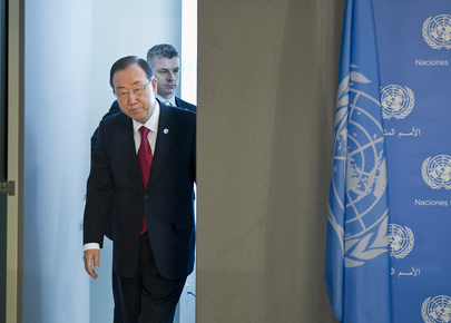 Secretary-General Announces Syria Conference Set for Early 2014