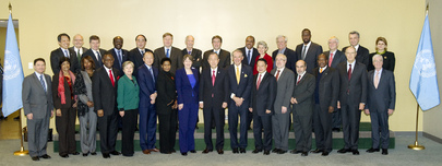 UN System Chief Executives Board at UNHQ