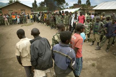 Demobilized Child Soldiers in Democratic Republic of the Congo